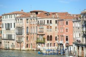 Buildings along the Grand Canal — Stock Photo