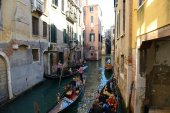 Gondola Venice Italy — Stock Photo