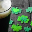Dark irish beer — Stock Photo #62130419