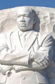 Memorial to Dr. Martin Luther King — Stock Photo