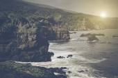 Cliffs over the Ocean in Maui Hawaii — Stock Photo