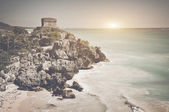 Tulum Mayan Ruins in Mexico — Stock Photo