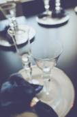 Blurred Table Setting — Stock Photo