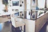 Blurred Modern Kitchen — Foto de Stock