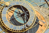 Detail of the astronomical clock — Stockfoto