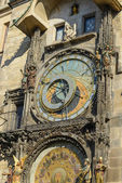 Clock of Astronomy in Prague — Stock Photo