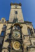 O relógio astronômico de Praga — Fotografia Stock
