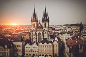 Old Town Hall in Czech Republic — Stock Photo