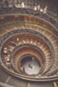 Spiral Staircase in Vatican City — Stock Photo