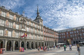 MADRID, SPAIN - on August 31, 2014: Plasa-Mayor Madrid downtown — Stock Photo