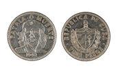 Cuban coin — Stock Photo