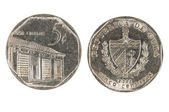 Cuban coin — Stock Photo