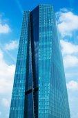 European Central Bank Main Eurotower in Frankfurt am Main, Germany — Foto Stock