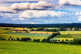 Colorful summer landscape near Kassel, Germany — Stock Photo