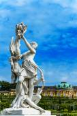 Woman sculpture in Castle Park Sanssouci in Potsdam, near Berlin, Germany — Stock Photo
