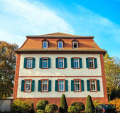 Convent the Engelthal in Altenstadt, close to Frankfurt am Main — Stock Photo