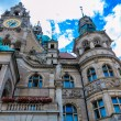 Quaint Town Hall in Hannover, Germany — Stock Photo #60262089