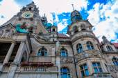 Quaint Town Hall in Hannover, Germany — Zdjęcie stockowe