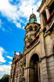 Quaint Town Hall in Hannover, Germany — Stock Photo