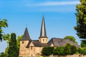 The Michael Church in historical Fulda, Germany — Stock Photo