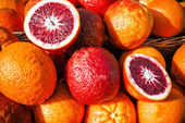 Juicy blood oranges — Stock Photo