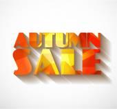 Autumn Sale collection. — Vecteur