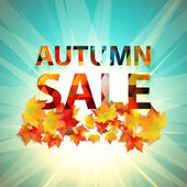 Autumn Sale collection — Stock Vector