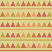 Triangles seamless background — Stock Vector
