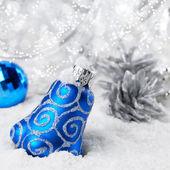 Christmas bells decorations — Stock Photo