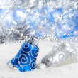 Christmas bells decorations — Stock Photo #55895357