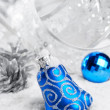 Christmas bells decorations — Stock Photo #58290123