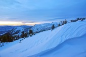 Winter on the mountain — Stockfoto