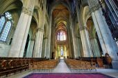 Inside Notre Dame Cathedral — Foto Stock