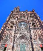 Cathedral in Strasbourg — Stock Photo