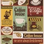 Coffee retro set — Stock Vector #53000305