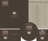 στυλ καφέ — Διανυσματικό Αρχείο