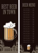Best Beer — Stock Vector