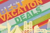 Travel agency — Stock Vector