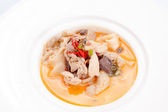 Tom Yum Kung-Thai spicy soup — Stock Photo