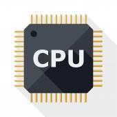 CPU icon — Stock Vector