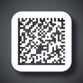 Datamatrix icon — Stock Vector