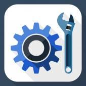 Settings icon — Stock Vector