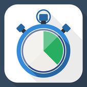 Символ секундомера — Cтоковый вектор