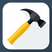 Hammer icon — Stock Vector