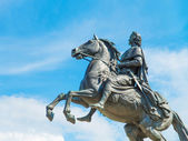 Monument of Peter the Great, Saint Petersburg , Russia — Stock Photo