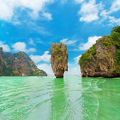 James Bond Island in Thailand — Stock Photo