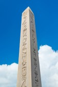 Obelisk of Theodosius in Istanbul — Stock Photo