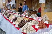 巧克力卖家 — 图库照片