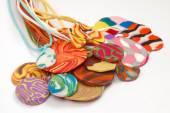 Handgemaakte sieraden — Stockfoto