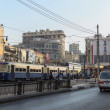 The street of Alexandria, Egypt — Stock Photo #55925355